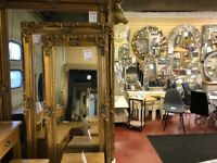Extra Large Massive 8 x 5ft Silver or Gold French Ornate Rectangular Classic Mirror IN STOCK