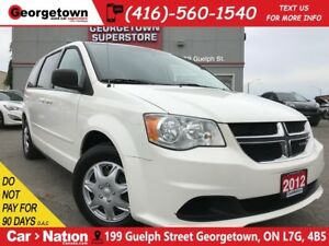 2012 Dodge Grand Caravan SE/SXT | CAPTAINS | STOW-N-GO | DUAL CL