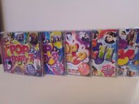 Pop Party CD's 7,8,9,11,14.
