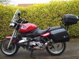 BMW R1100R 1996 in good condition