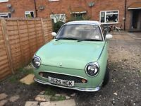 Nissan Figaro 985cc Green Turbo