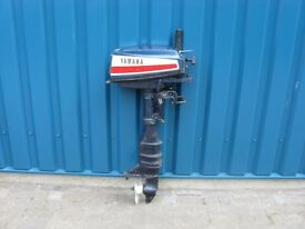 W.B.R Outboard Engines Yamaha 8 hp 2 stroke fore sale