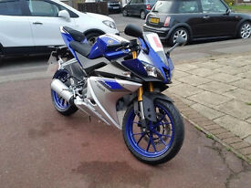 Yamaha YZF R125 2015 ABS Blue in Essex Excellent Condition Low Milage Learner Legal