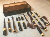 Antique Bagpipes Late 1800's
