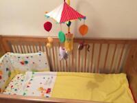 Nursery cot baby bedding