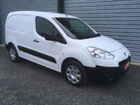 2013 PEUGEOT PARTNER 1.6 HDI 3 SEATER CHOICE OF 2 FULL YEARS TEST NO VAT !