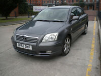 2003 Toyota Avensis 2.0 VVT-i T Spirit Automatic 4dr Saloon