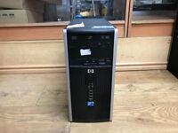HP Compaq 6000 Core 2 Duo E8400, 3.00GHz 4GB RAM 160GB HD Win 7 Pro PC