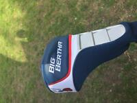 Callaway driver, hybrid and titelist irons