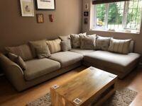 Left Hand Corner DFS Sofa