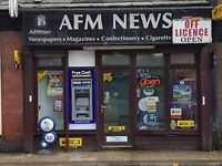 DOUBLE FRONTED SHOP ON THE MAIN ROAD IN HEYWOOD TOWN CENTRE £120 only