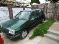 spare or repair renault clio 1.4 automatic runs and drives no mot