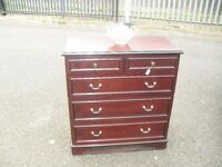 Super Clean Stag Furniture Mahogany Chest Of Drawers