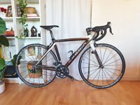 Orbea Onix Full Carbon Road Racing Bike 51cm Makic Aksium and Shimano 105 2x10spd - Serviced