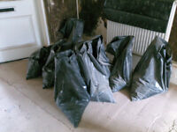 50 bags of old rubble.