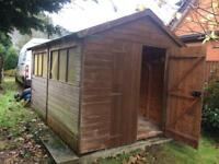 12x8ft shed