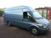 Ford Transit Jumbo 135 HP 6 speed 2006 years MOT 09/08/2017 177 600 mils