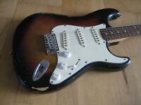 Sunburst Squier Stratocaster
