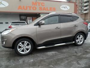 2010 Hyundai Tucson Limited, LEATHER, AWD