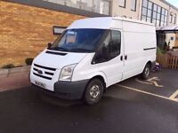 2012 61 REG FORD TRANSIT T280 SWB SEMI HIGH TOP VAN - IVECO SPRINTER CRAFTER