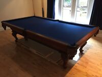 American Pool Table - Full Size - 9ft x 5ft