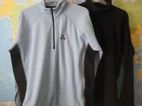 2 'CRAG HOPPERS' ZIPPED TOPS WITH STRETCH - SIZE 18