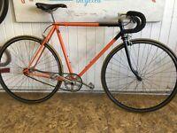 Reynolds 531 retro single speed bike
