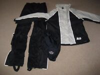 Harley Davidson Ladies childs Waterproof suit small