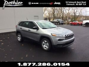 2016 Jeep Cherokee Sport 4x4 | CLOTH | HEATED SEATS | REMOTE STA