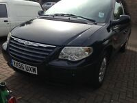 Chrysler Voyager 56Reg 1 owner from new plus 7 seats swop p/X