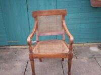 Webbing type single chair, great condition