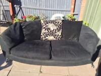 Dfs 3 seater sofa x2