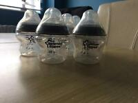 7x brand new tommee tippee 5oz bottles