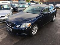 2005/05 LEXUS GS 300 3.0 SE CVT 4DR BLUE,VERY HIGH SPEC,GOOD SERVICE HISTORY,LOOKS AND DRIVES WELL
