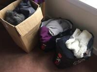 Bags of clothes size 14 and size 16