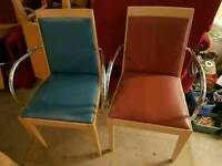 Job lot of 18 Andreu World conference chairs