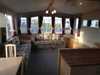 STUNNING USED CARAVAN FOR SALE ON NORTH EAST COAST NR WHITLEY BAY, SEATON DELAVAL, AMBLE, BAMBURGH