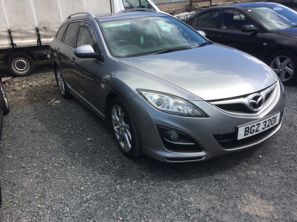 2.2 diesel, Mazda 6 estate, 2012
