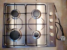 DIPLOMAT GAS HOB IN GOOD USED CONDITION.