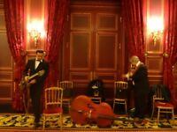 French gypsy jazz band