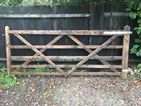 270 x 110 cm 5 bar gate