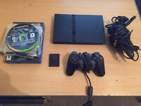Sony Playstation 2 Slim Console With Controller, Memory Card and Loads of games