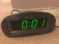 Radio alarm clock