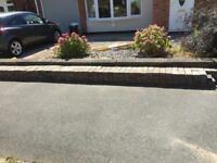 Block paving (448 bricks)