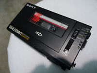 Sony Walkman Professional - WM-D6 Personal Cassette Player and Recorder - MINT