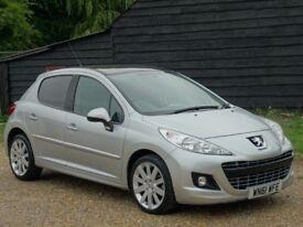 2011 (61) Automatic Peugeot 207 1.6 VTi Allure 5dr AUTOMATIC + BLUETOOTH PHONE