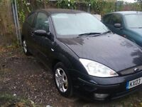 Ford focus 1.6 ebony mot end september full leather heated seats 2003 cd alloys drives great £350