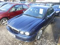jaguar x type classic d 2005-05-plate, 2.0 turbo diesel, manual ,only 131,000 miles ,new mot