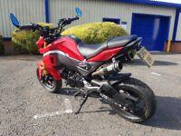Honda Grom Msx 125cc learner legal Motorbike not Scooter
