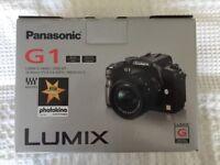 Panasonic G1 camera with Lumix G Vario Lens Kit 14-45 mm